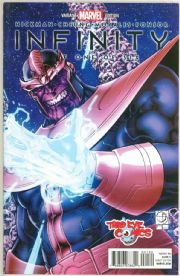 Infinity #1 Third Eye Comics Retailer Thanos Variant (2013) Marvel comic book